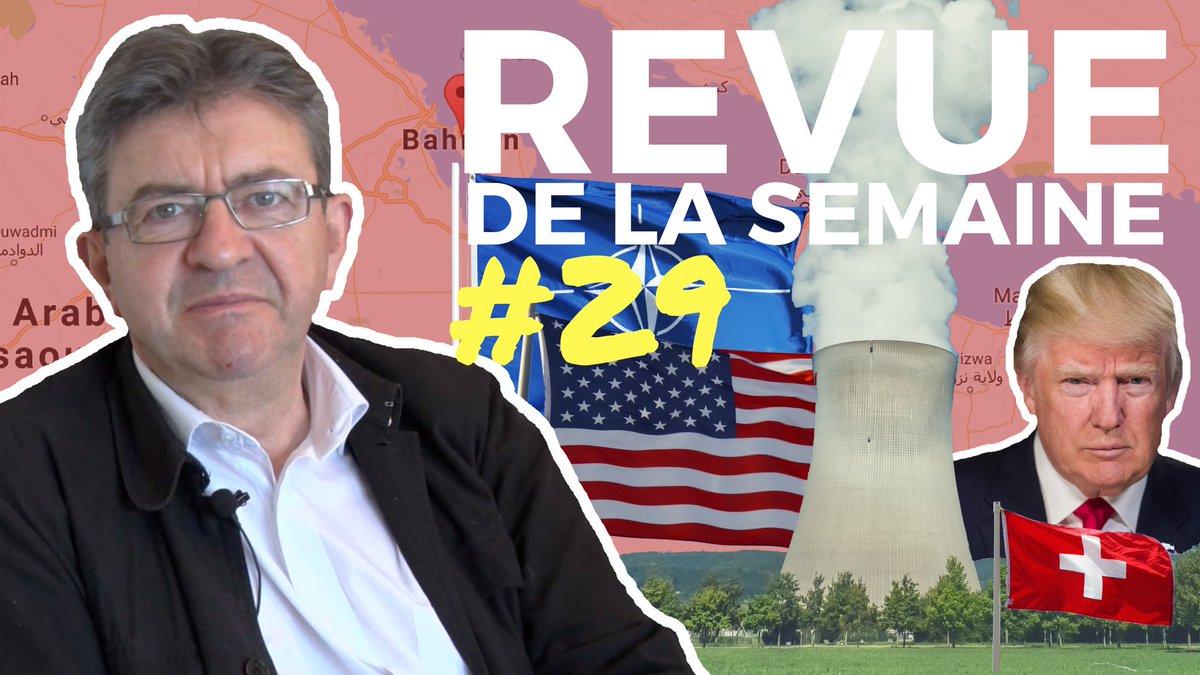 #RDLS29 en ligne ! Thèmes : nucléaire suisse, #OTAN, #Trump, Bahreïn, Société générale, Irak, Afghanistan  ➡️ https://t.co/gU7ZkiFNM0