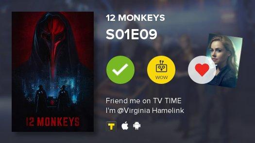 I've just watched episode Tomorrow of 12 Monkeys! #12monkeys  https://...