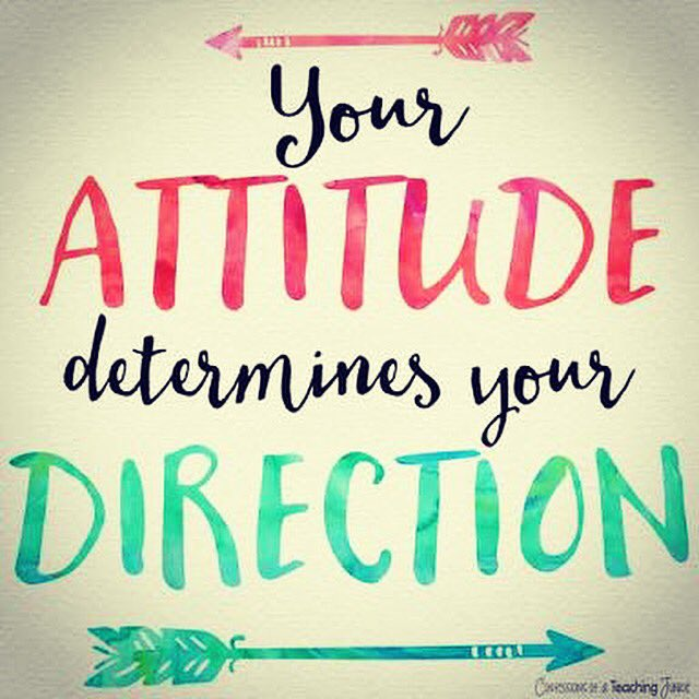 Your #attitude determines your #direction <br>http://pic.twitter.com/lplmpAnWF4
