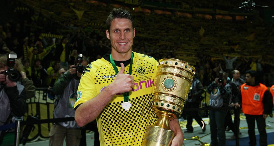 🏆🏆 2012: Borussia claim first-ever double #FlashbackFriday https://t.c...