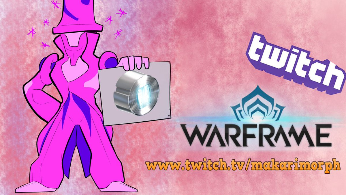 https://www. twitch.tv/makarimorph  &nbsp;   @PlayWarframe time! The tophatters are live!  #SupportSmallStreamers #twitch #streaming #warframe @A1_ReTweeter<br>http://pic.twitter.com/0i1BQTbUdx