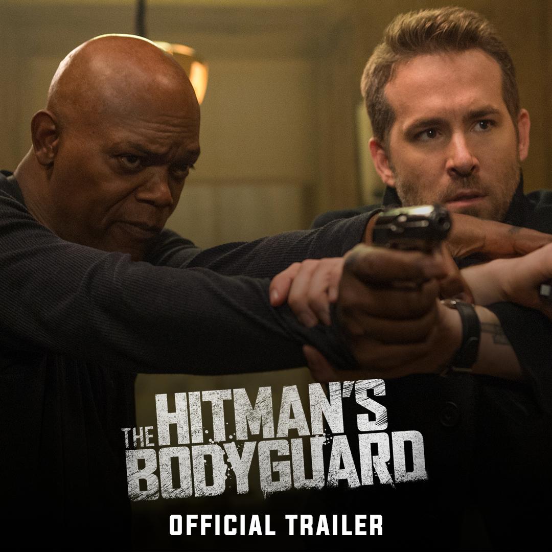 凄腕ボディガードのライアン・レイノルズが宿敵の殺し屋サミュエル・L・ジャクソンを命がけで守る羽目に!?新作アクションコメディ「The Hitman's Bodyguard」予告編。反目しあう水と油な2人の姿に爆笑。8月18日全米公開。