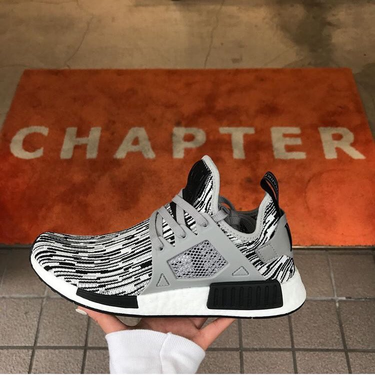 Order Shoes Adidas Outlet Uk NMD XR1 Black White Womens Adidas