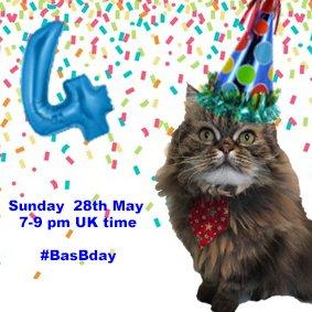 Thumbnail for Basil birthday #BasBday