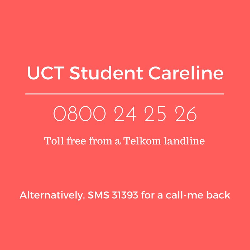 Image result for uct student wellness