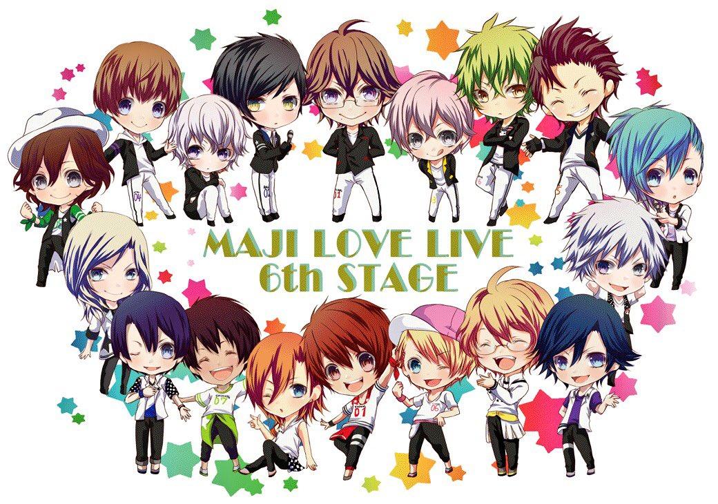 ✨✨MAJI LOVE LIVE 6th STAGE 開催おめでとうございます✨✨  #プリライ6thカウントダウン  こちらのイラストのICシールを会場周辺にて両日配布させて頂きます! 詳細はまた後ほど!
