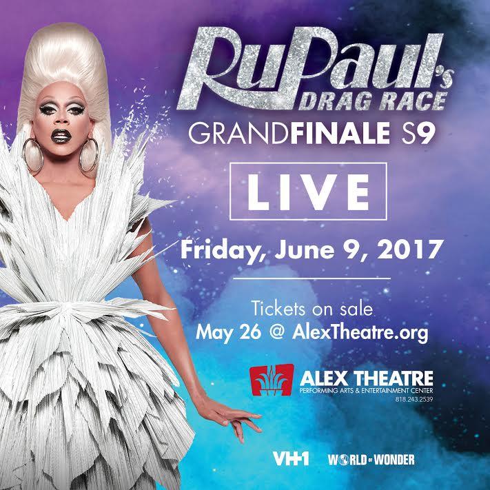LIVE FINALE! #DragRace Friday June 9th #RupaulsDragRaceS9finale TIX: h...