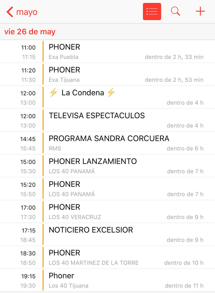 🔥 Así la agenda de hoy para promocionar #LaCondenaJuanSolo 🔥 https://t...