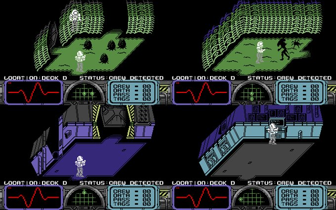 C64 - Organism. A bit more done on the char sets. #c64 #retro #RETROGAMING #gamedev<br>http://pic.twitter.com/o6GNrnEsO8