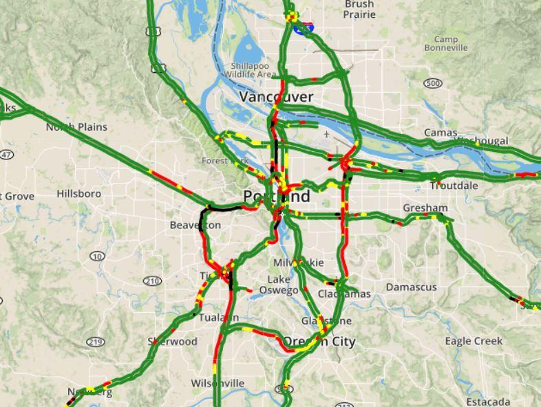 Kgw Traffic Map KGW News on Twitter: