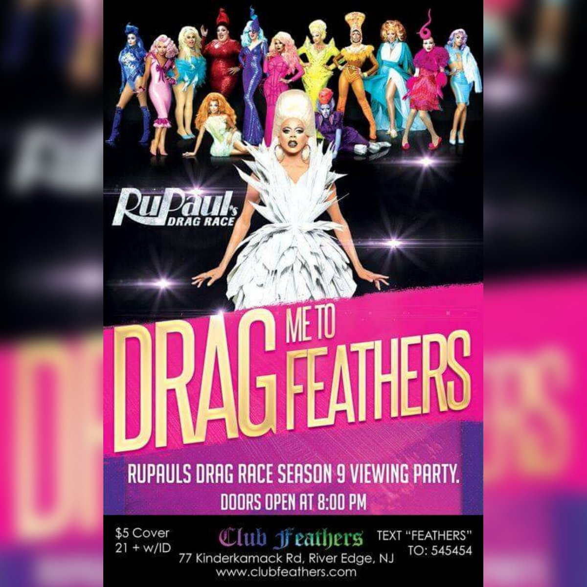 The Queens give the #DragRace crew a lil' makeover tonight ... Doors o...
