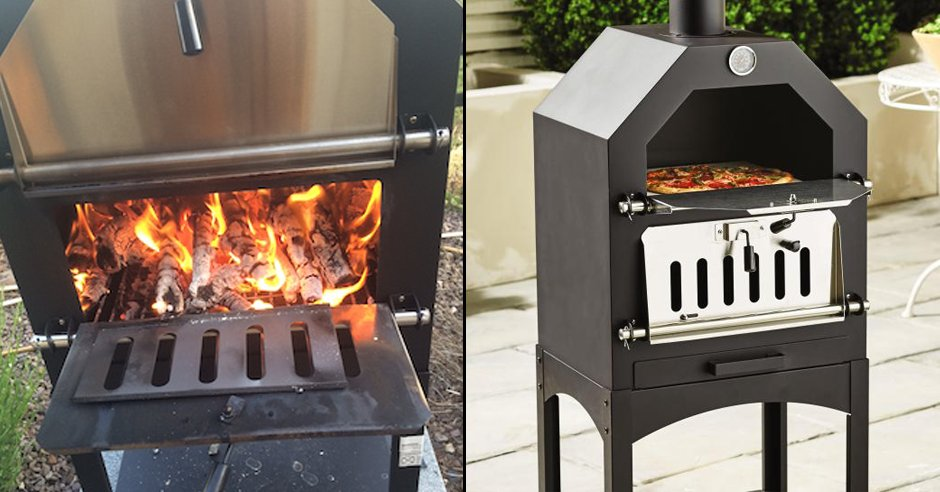 Aldi Pizza Oven.Ladbible On Twitter Aldi Is Selling A Wood Fired Pizza