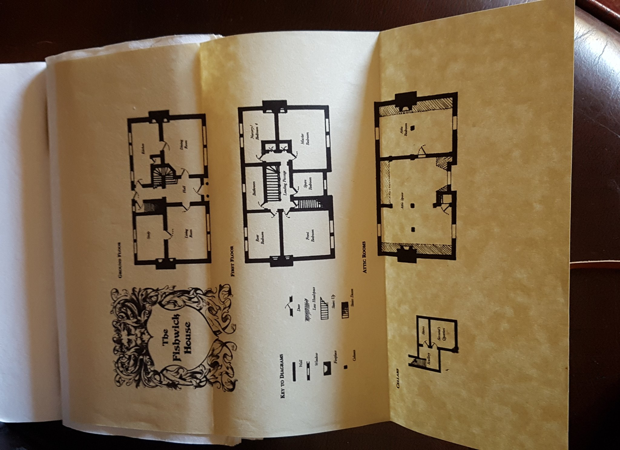 The journal also contains all the floorplans, later redesigned and printed on parchment for posterity. https://t.co/4m4AaiGgnL