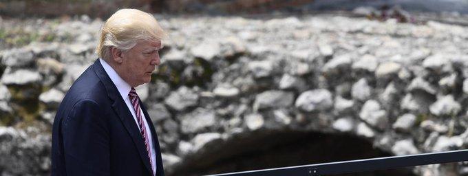#G7  Trump  'n'a pas les mains si libres qu'il veut le laisser paraître ' pour remettre en cause l'accord sur le climahttps://t.co/pk5SDl889Yt