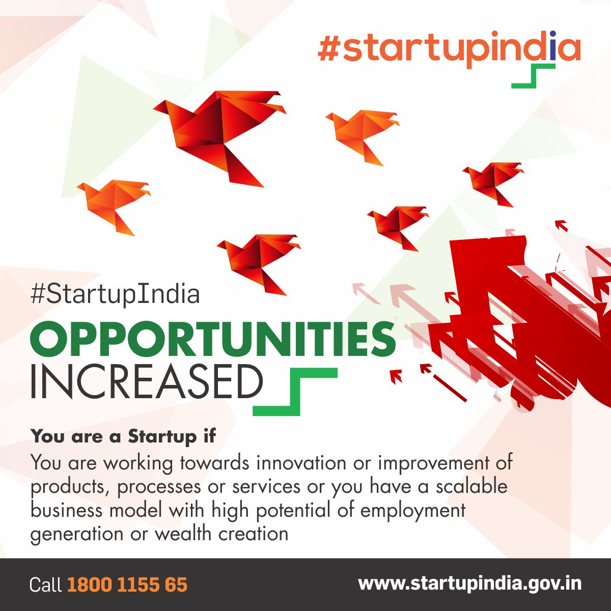 Improvement in products/services, employment creation, scalability-part of new definition of #startups #StartupIndia  http:// bit.ly/2jtRRpE  &nbsp;  <br>http://pic.twitter.com/vQzDZvM8gj