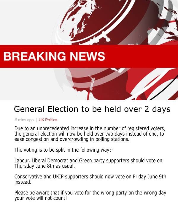 Please pass this on very, very important ... #BreakingNews