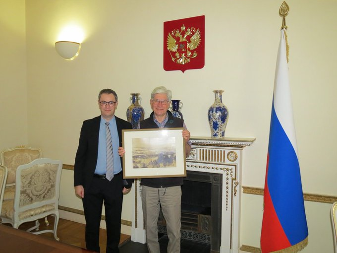 Rare photo presented to the Russian Embassy: https://t.co/OBwbItN62w