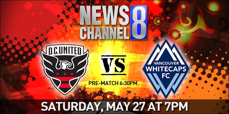 Don't miss @dcunited take on @WhitecapsFC TOMORROW night at 7PM, pre-m...