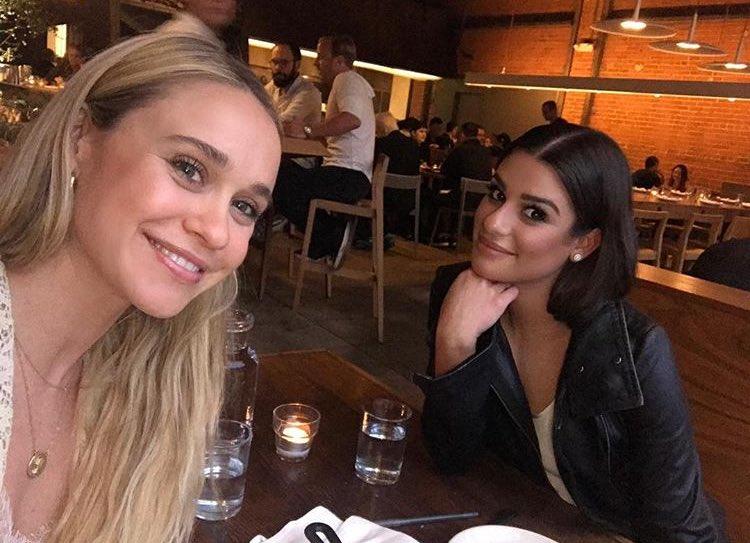 Lea and Becca Tobin reunited! https://t....