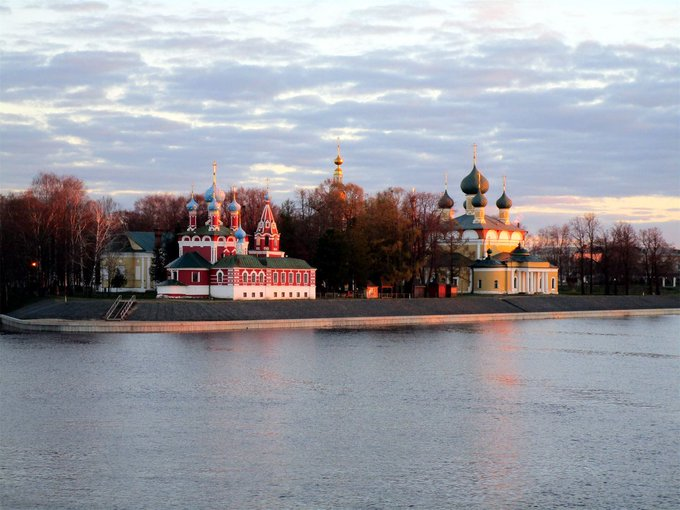Good morning! (Uglich, Russia)