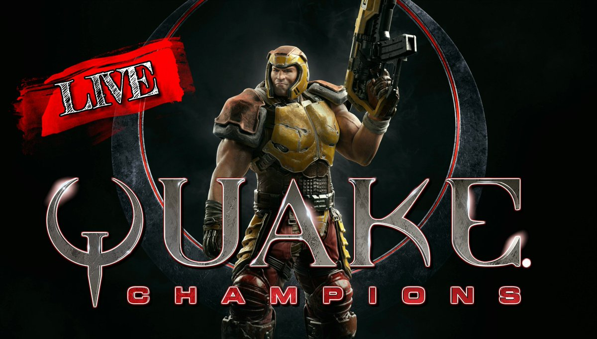 Join me now for live @Quake All the new champions and modes!  http:// gaming.youtube.com/channel/UCYHOc QJBFDHOL8AGNGaiTGg/live &nbsp; …  @HyperRTs @ShoutGamers @GamerRetweeters #streaming <br>http://pic.twitter.com/8TQlBYRctJ