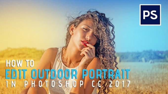 How To Edit Outdoor portraits || In Photoshop Tutorial [ Basic ]
