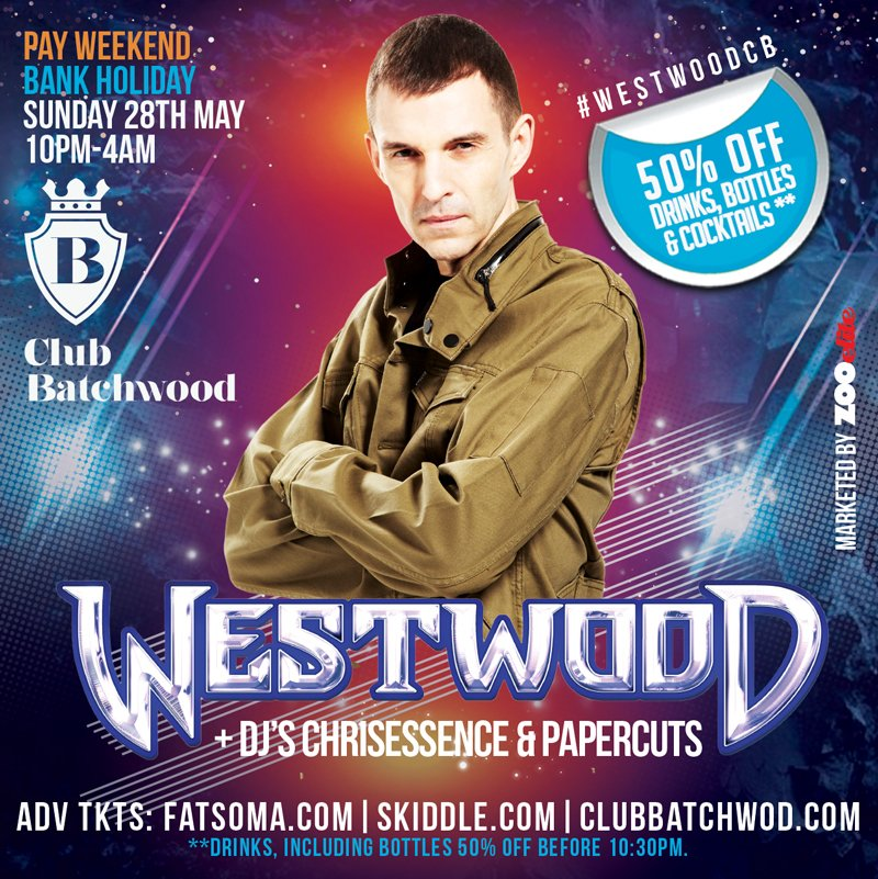 The Place to Party This Weekend People! @TimWestwood let&#39;s Turn Tha F UP  #BilliSauce  #ElClasico Coming Soon   http:// skiddle.com/e/12972804  &nbsp;  <br>http://pic.twitter.com/Z0MAE92tf4