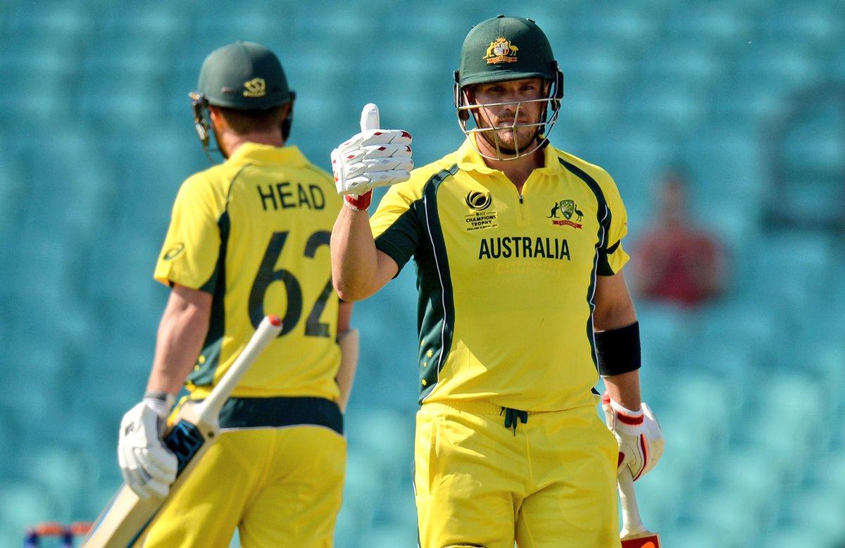 test Twitter Media - AUSTRALIA WIN! Aaron Finch scores 137 as Australia chase down 319 in their #CT warm-up against SL. SCORES: https://t.co/QocmcFqh1f #AUSvSL https://t.co/UQH1J3Llcx