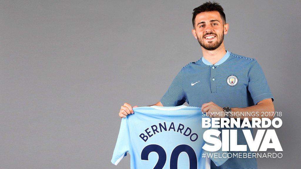 .@BernardoCSilva nuevo jugador del Manchester City.  📝 https://t.co/JY...