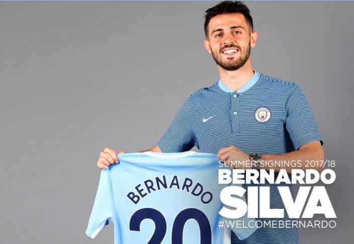 #OFFICIEL Bernardo #Silva (#Monaco) rejoint #Manchester City<br>http://pic.twitter.com/i9Nae7I9u3