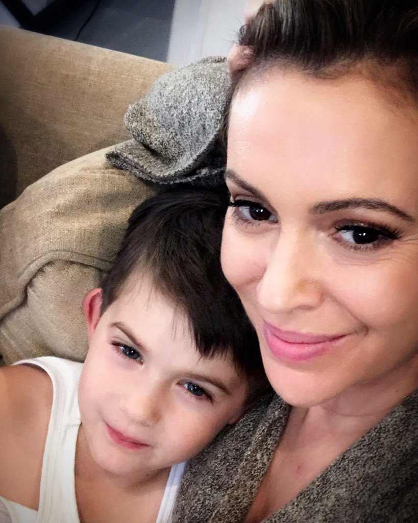 Alyssa Milano On Twitter My Son My Son My Son He S As