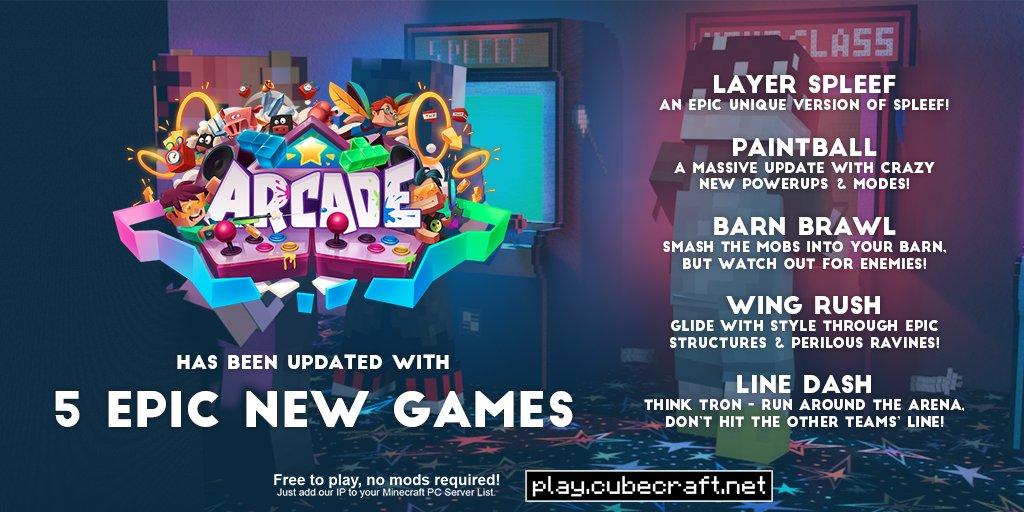 CubeCraft Games on Twitter: