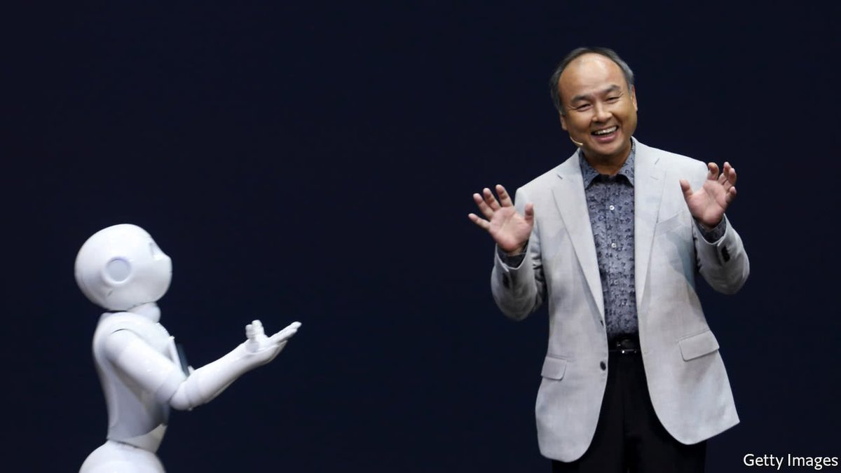 Softbank's CEO is preparing for a world populated by billions of robots https://t.co/ESi7XRG9ah