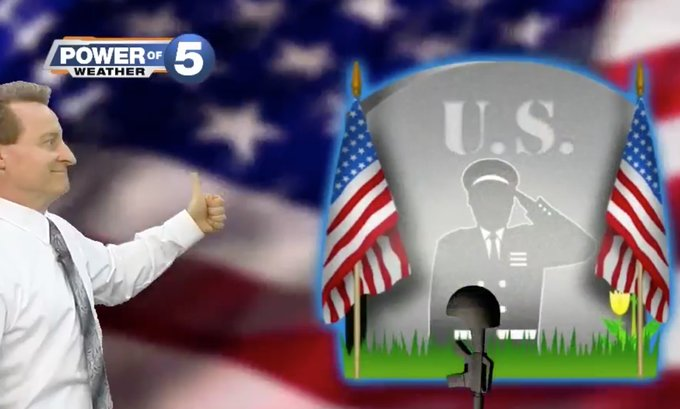 MEMORIAL DAY WEEKEND: @MarkJWeather gives the thumbs up! https://t.co/zEloZvUCc3