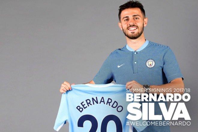 #OFICIAL   El Manchester City ficha a Bernardo Silva por 80 millones d...