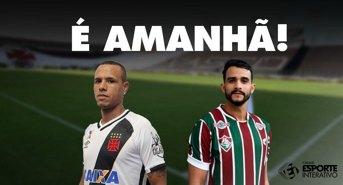Amanhã tem  vascodagama e  FluminenseFC pelo Campeonato Brasileiro! Tem  torcedor ansioso aí  74de6194bc566