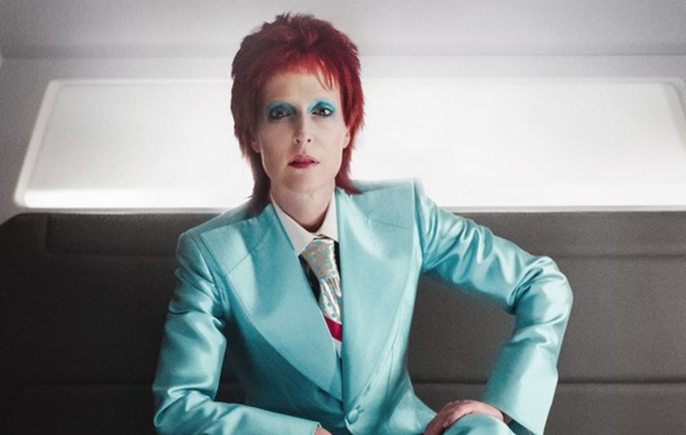9d30b7917f6 take a look at gillian anderson as ziggy stardust era david bowie in  american gods