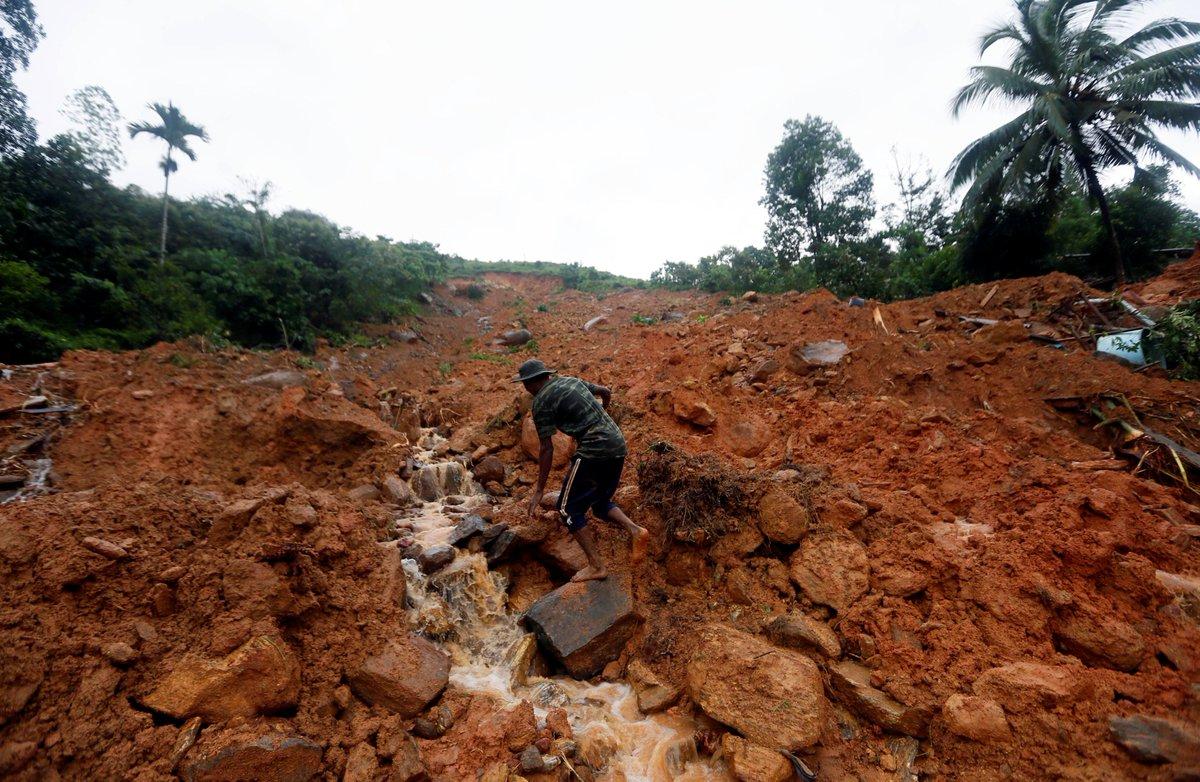 Sri Lanka colpito dalla forza della natura: è emergenza