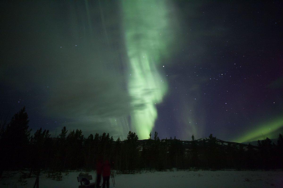 Looks like smoke from a fire! #ExploreYukon #auroraborealis <br>http://pic.twitter.com/eoKC4pVzLM