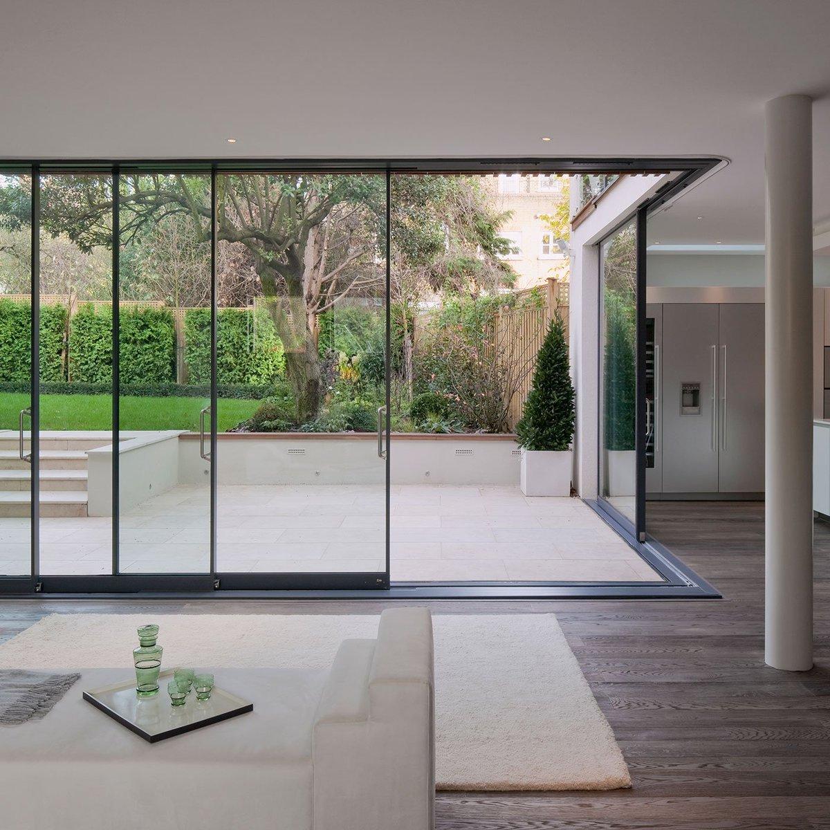 Fineline Aluminium on Twitter  Frognal | Sliding Doors | Architect Alma-nac | Photo Richard Brineu2026   & Fineline Aluminium on Twitter: