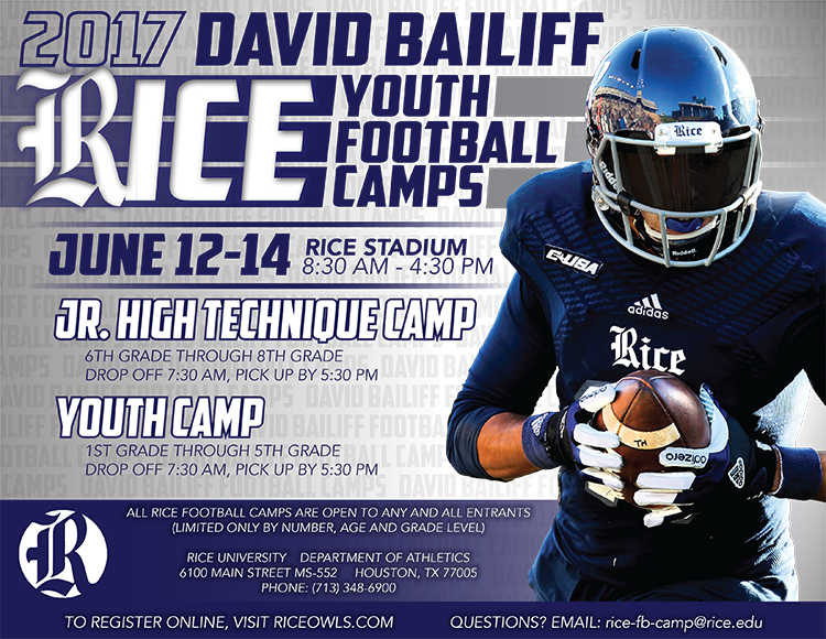 Rice Football On Twitter Before The Holiday Weekend Make Sure To