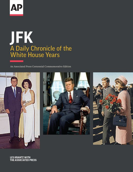 Ad: JFK would have turned 100 on 5/29 - get @AP book about the Camelot years https://t.co/e3xpGTbV8k