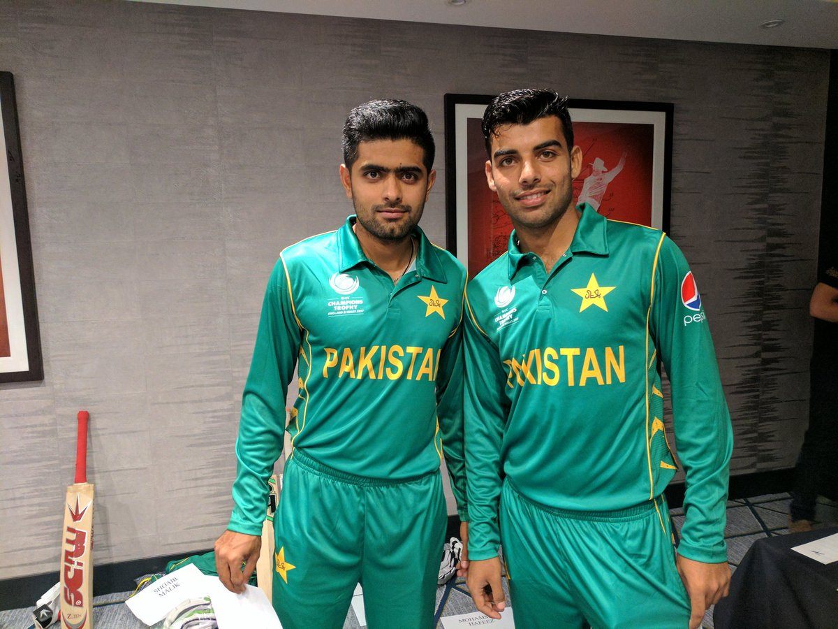 Pakistan launch new kit for Champions Trophy