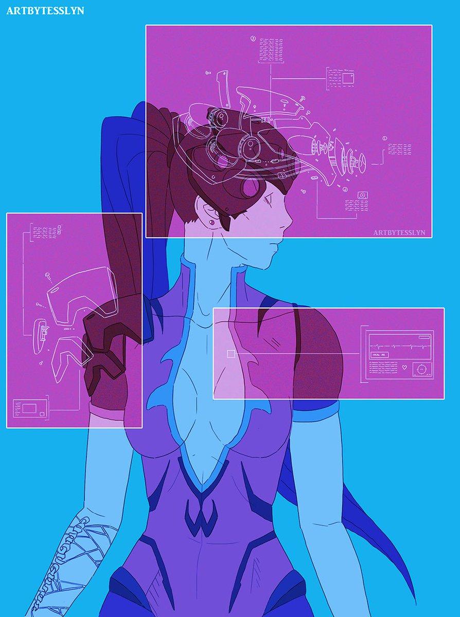 A machinery breakdown for #widowmaker. I love drawing tech fdgdfh #illustration #OverwatchFanart #digitalart @PlayOverwatch<br>http://pic.twitter.com/65LrgHu62H