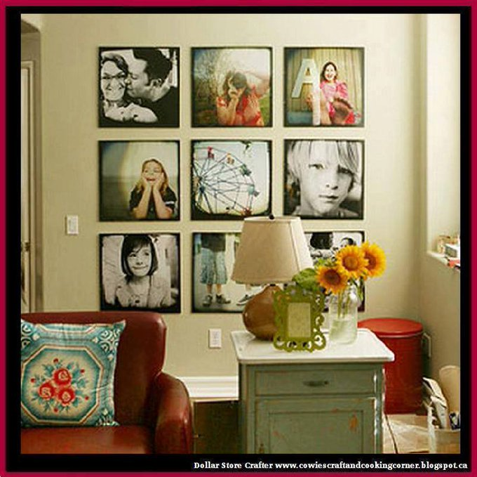 Large Photo Wall Display