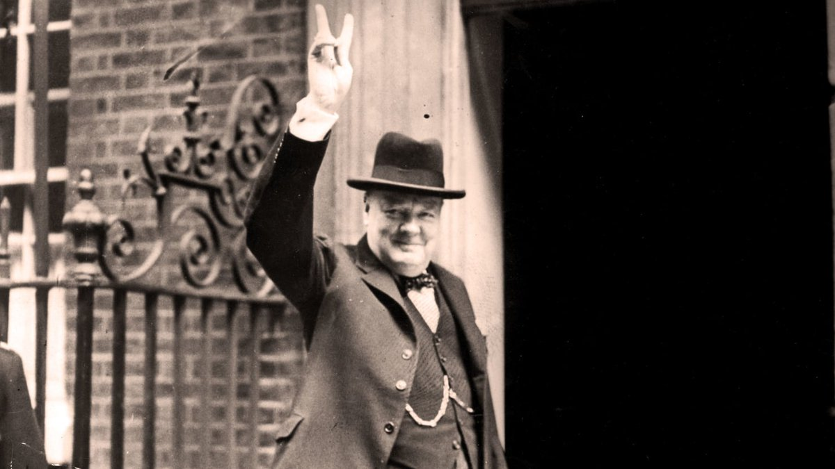 Winston Churchill's first day on the job was not easy https://t.co/ehe...