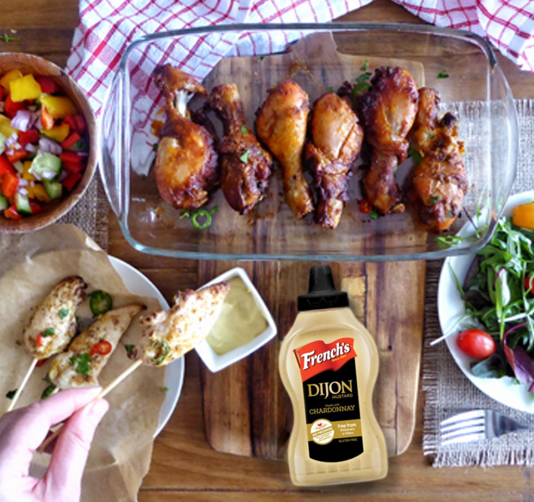 Get inspired for your BBQs with our zesty Dijon recipes, perfect for this busy weekend! #frenchs #dijon  http:// bit.ly/2pZpm6D  &nbsp;  <br>http://pic.twitter.com/IXwXMQn7E4