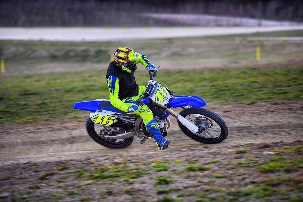 Valentino Rossi tenta il recupero per correre GP d'Italia di MotoGP al Mugello