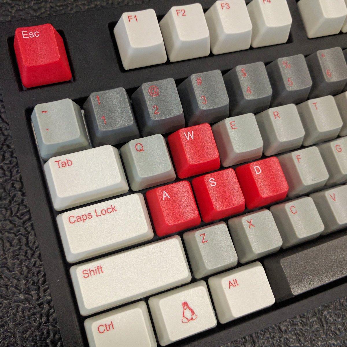 WASD Keyboards On Twitter Modern Linux With Custom Print