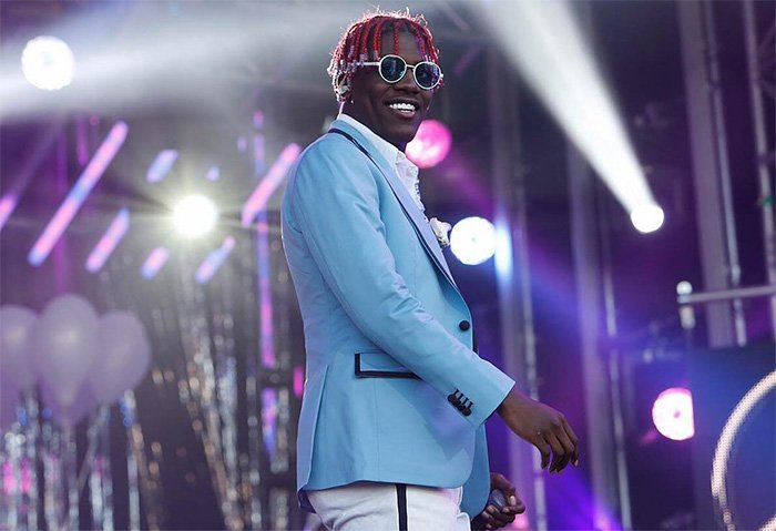 Lil Yachty performs 'Bring It Back' on 'Jimmy Kimmel Live!' https://t.co/PfWQBFWaPW